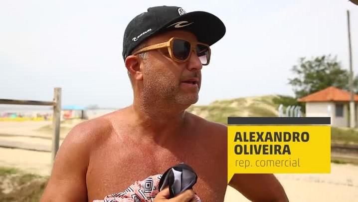 Como veranistas avaliam as praias do RS