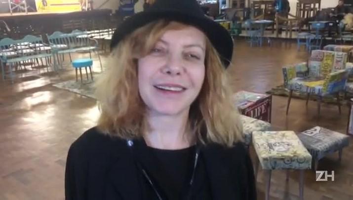 Cecilia Roth chega a Gramado para o festival de cinema