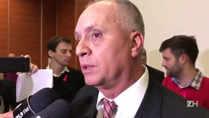 Marcelo Medeiros fala após reunião do Conselho Deliberativo