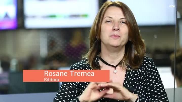 Mapa de viagens: Rosane Tremea