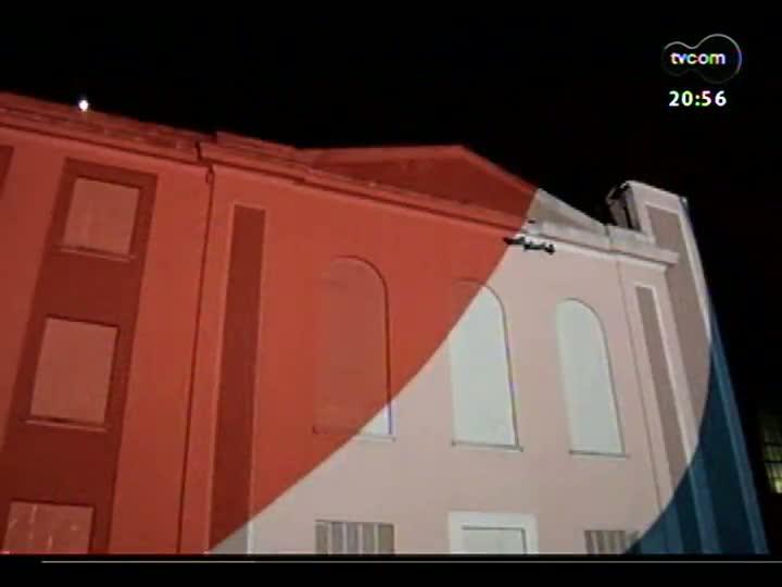 TVCOM Tudo Mais - Show de cores e som na fachada do Gasômetro