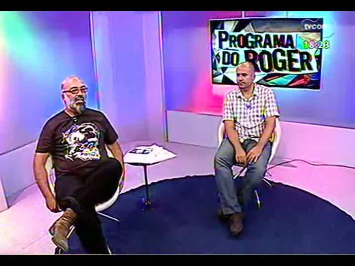 Programa do Roger - Crítico Marcelo Perrone faz balanço do Oscar - bloco 4 - 25/02/2013