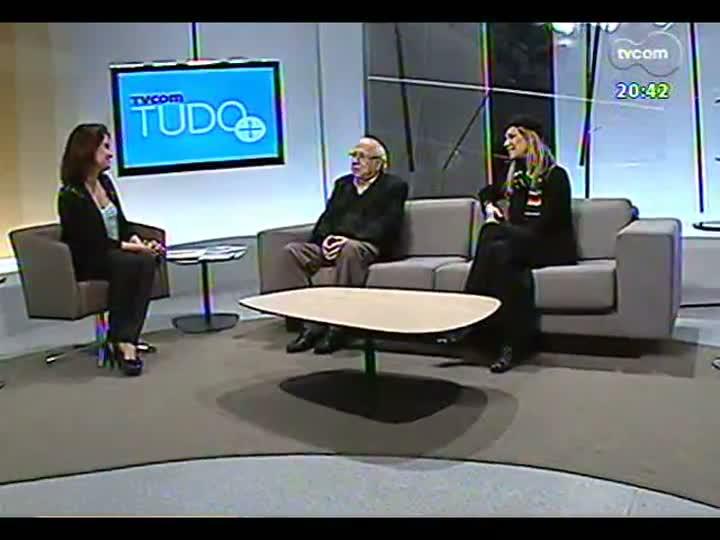 """TVCOM Tudo Mais - Luis Fernando Verissimo e a fotógrafa Dulce Helfer falam sobre a mostra \""""Luis Fernando Muito Verdadeiro\"""""""