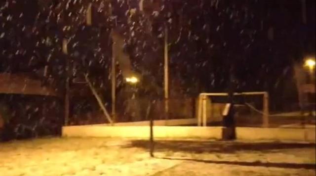 Neve em Caxias do Sul. 27/08/2013
