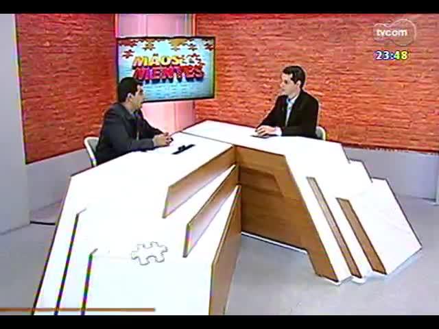 Mãos e Mentes - CEO da BRIO, Marcelo Flores - Bloco 2 - 02/10/2013