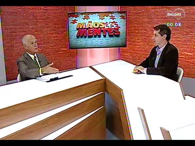Mãos e Mentes - Decano da Escola de Direito da Unisinos, Vicente de Paulo Barretto - Bloco 3 - 25/10/2013
