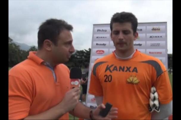 Entrevista com o goleiro Galatto