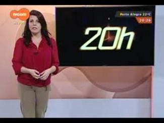 TVCOM 20 Horas - O movimento nas estradas na véspera do feriado Farroupilha com Vanessa da Rocha - Bloco 3 - 19/09/2014