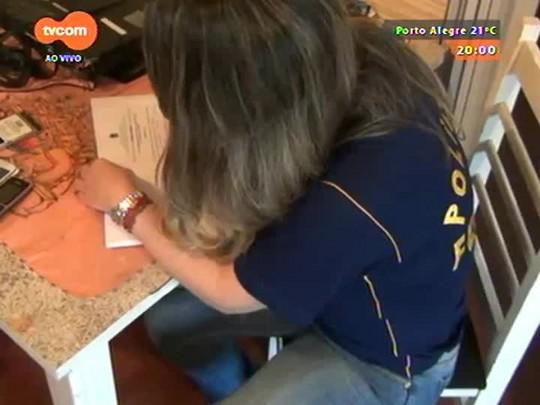 TVCOM 20 Horas - Megaoperação da Polícia Federal prende mais de 50 pessoas por pedofilia - Bloco 1 - 15/10/2014