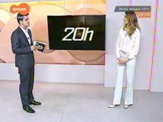 TVCOM 20 Horas - Após trégua, previsão é que chuva siga pelo final de semana - Bloco 3 - 17/10/2014