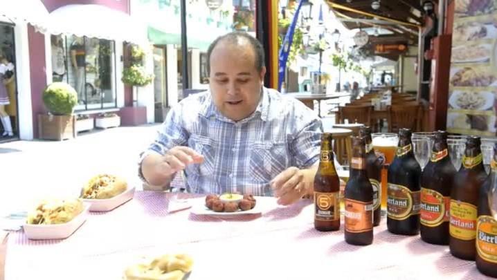 harmonozação de cerveja com bolinho