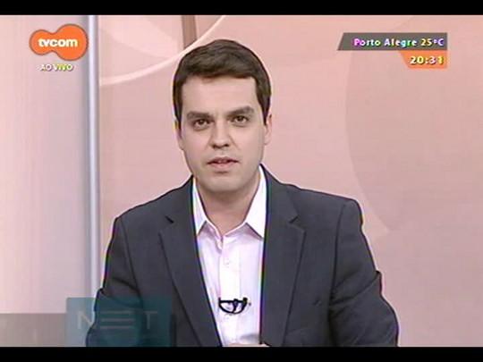 TVCOM 20 Horas - Programa especial mostra entrevista com o novo governador eleito José Ivo Sartori e análise de Rosane de Oliveira - Bloco 3 - 27/10/2014