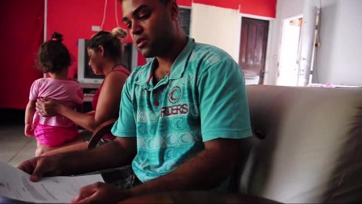Criança de cinco anos luta para não ficar cega em Joinville