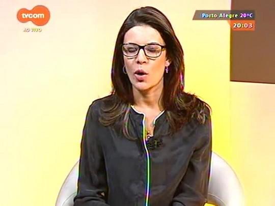 TVCOM 20 Horas - Trem descarrila e causa transtorno para usuários da Trensurb - 07/04/2015