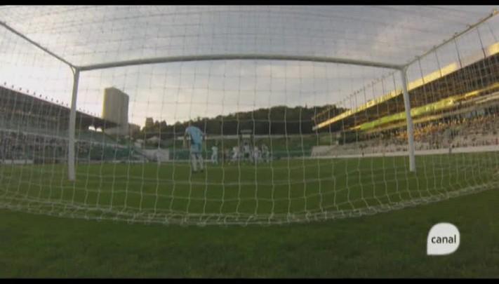 Confira o momento do gol do Juventude contra o Guarani