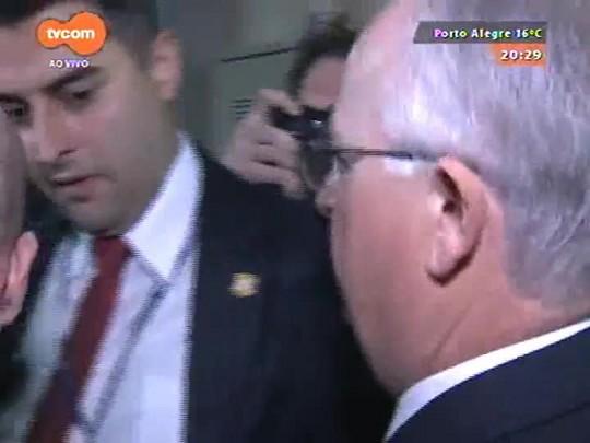 TVCOM 20 Horas - Deputado Diógenes Basegio presta depoimento na Comissão de Ética da Assembleia legislativa - 22/06/2015