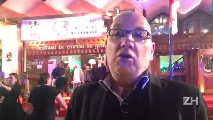 """Secretário da Cultura Victor Hugo exalta Gramado: \""""referência em cinema\"""""""