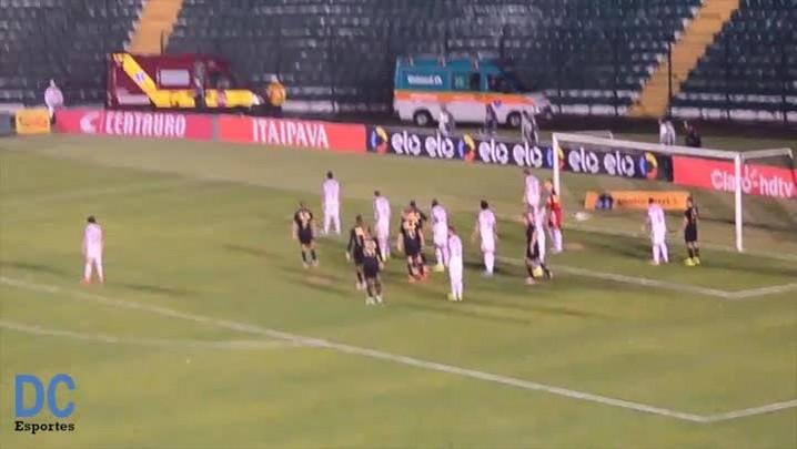 Confira o segundo gol do Figueira em cima do Atlético-MG, pela Copa do Brasil