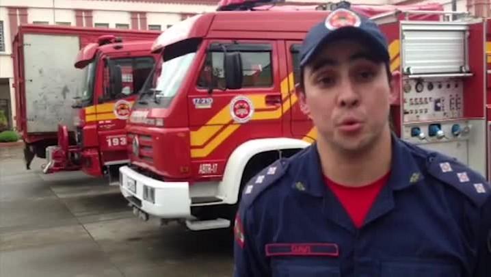 Resgate de pessoas ilhadas estão entre as operações dos bombeiros em Rio do Sul