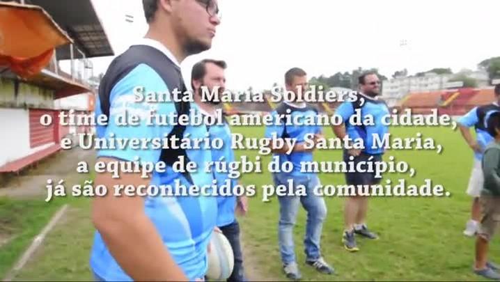 Informar é transformar: futebol americano e rúgbi de Santa Maria