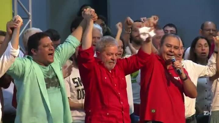 PF faz buscas em endereços do ex-presidente Lula