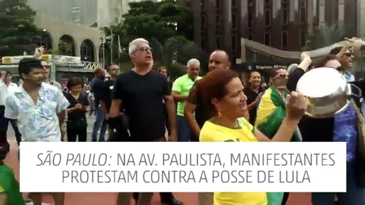 São Paulo: manhã de manifestações em meio à crise