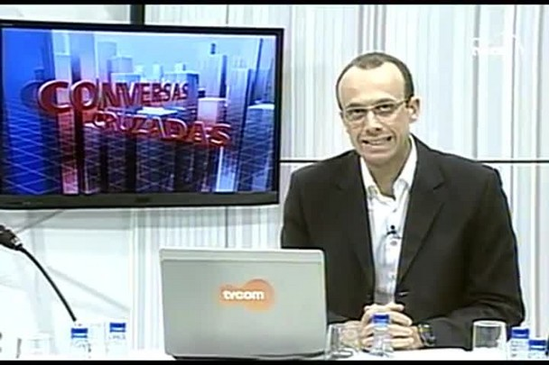 TVCOM Conversas Cruzadas. 2º Bloco. 27.05.16