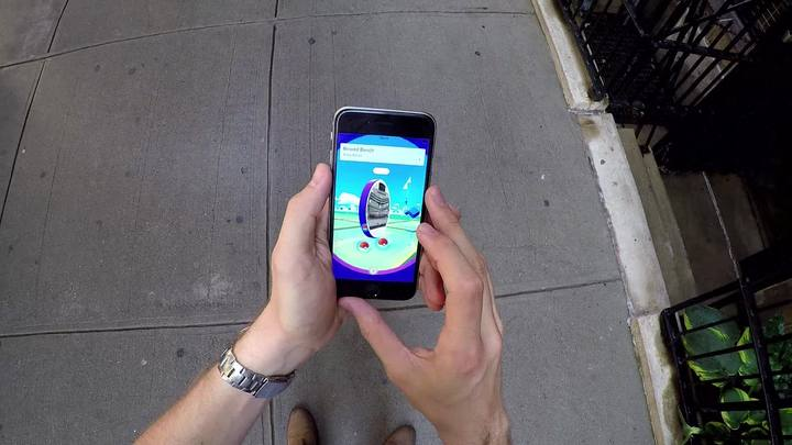 A febre do 'Pokémon Go'