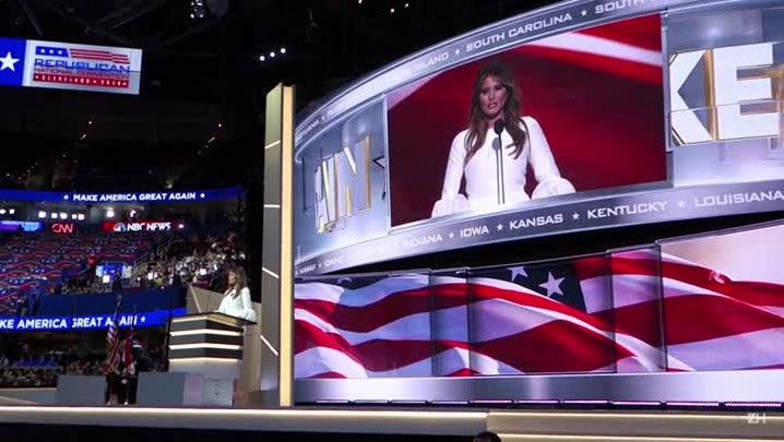 Assessores de Trump negam plágio de Melanie