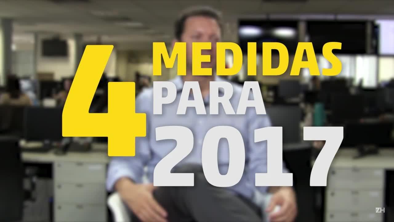Nelson Marchezan elenca quatro medidas que adotará na prefeitura de Porto Alegre em 2017