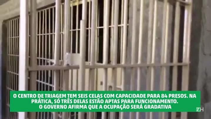 Centro de triagem de presos provisórios é inaugurado pela segunda vez