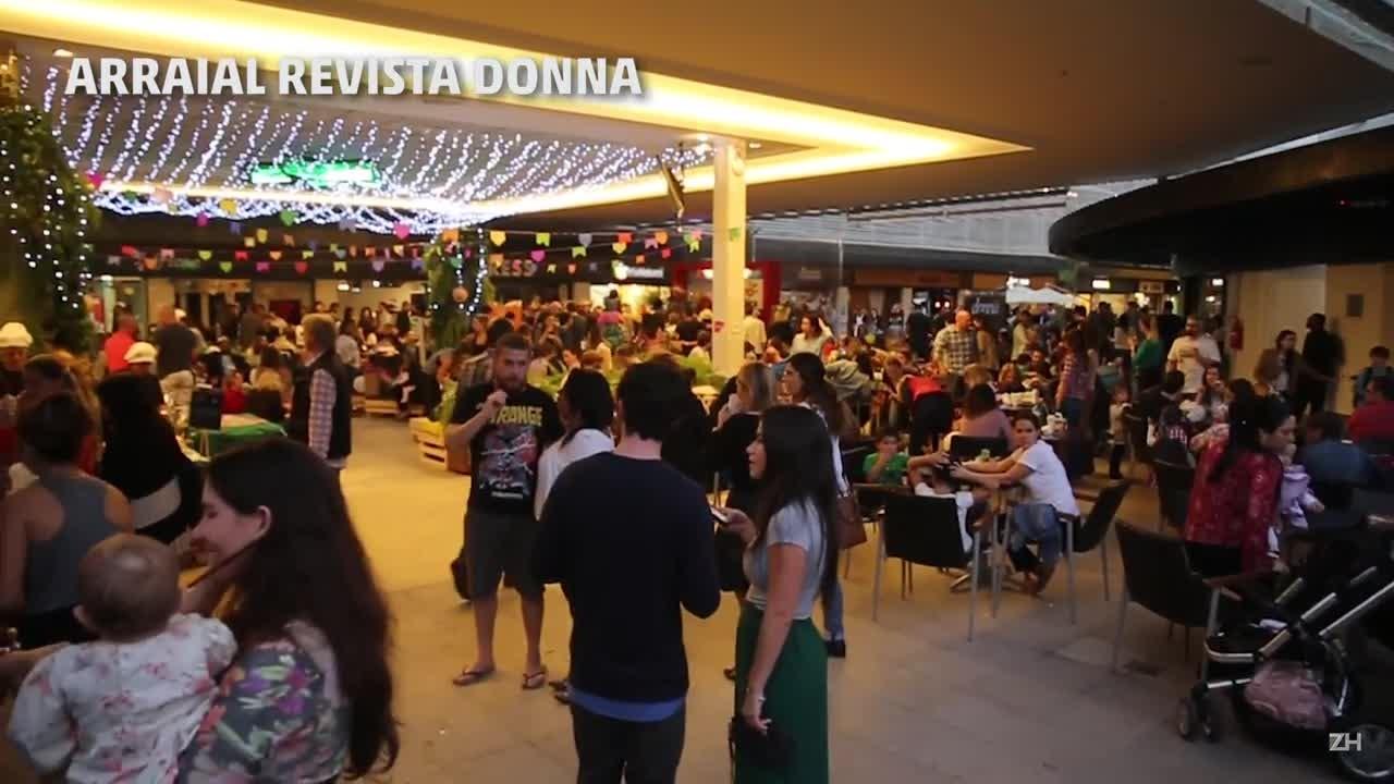 Festas juninas colorem ruas de Porto Alegre