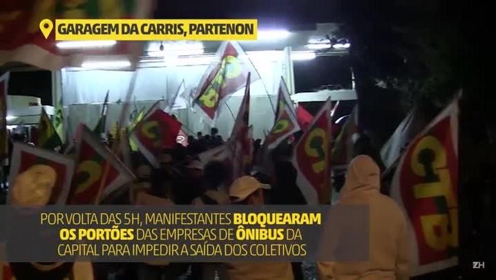 Como foi a greve geral em Porto Alegre nesta sexta-feira (30)