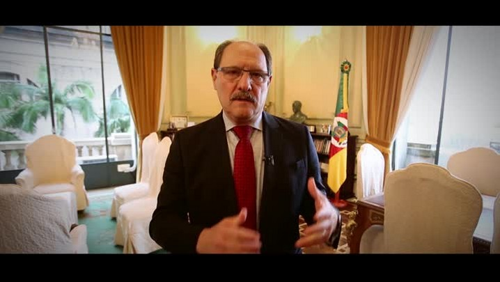 Depoimento do governador José Ivo Sartori sobre os 125 anos do Legislativo caxiense