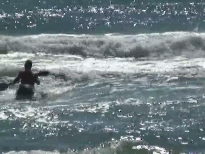 Kayaksurf e waveski na Prainha em São Francisco do Sul
