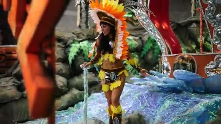 A musa do Carnaval de Porto Alegre