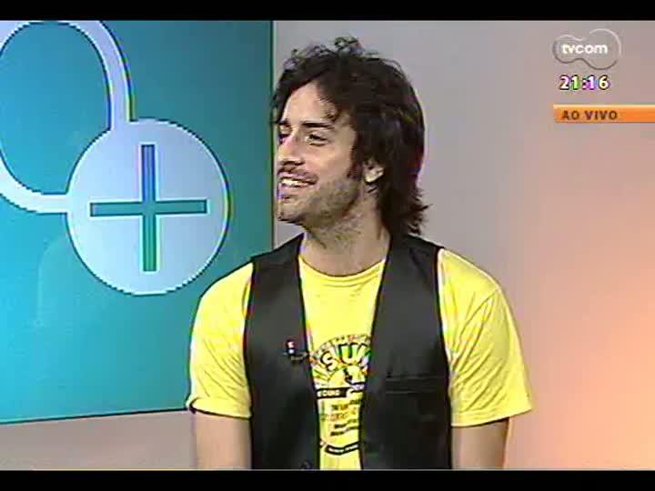 TVCOM Tudo Mais - Luciano Leães, que faz a apresentação de abertura do show de Elton John