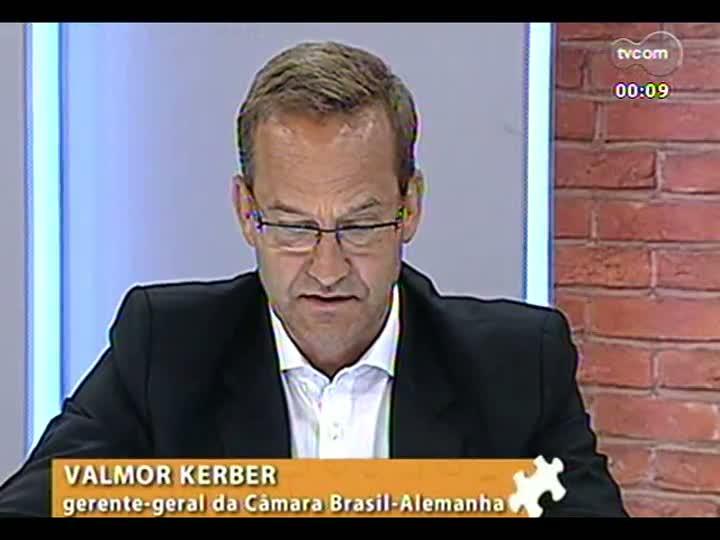 Mãos e Mentes - Gerente-geral da Câmara Brasil-Alemanha, Pedro Valmor Kerber - Bloco 4 - 06/03/2013
