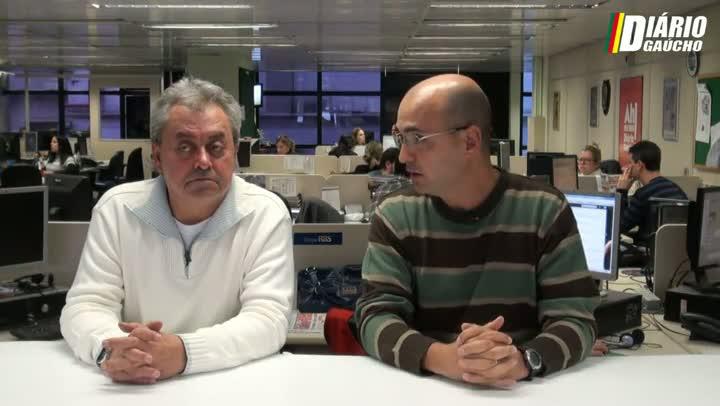 Pergunta para o Guerrinha: o clima nos vestiários de Inter e Grêmio