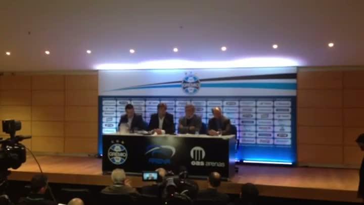 Renato fala da alegria de retornar ao Grêmio - 01/07/2013