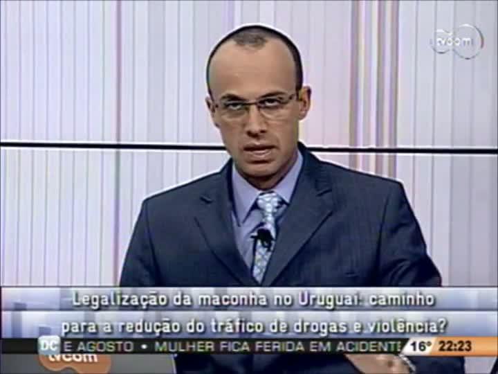 Conversas Cruzadas - Legalização da Maconha no Uruguai --2º Bloco - 12-08-2013