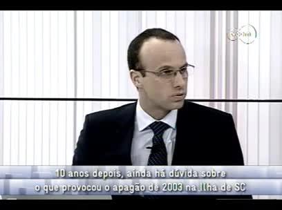 Conversas Cruzadas - Apagão de 2003 em Florianópolis 3ºbloco - 29/10/13