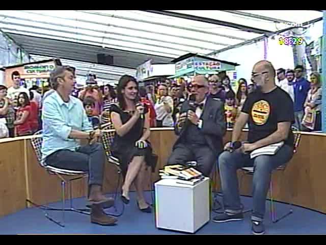 Café TVCOM - Bate-papo cultural direto da 59ª Feira do Livro - Bloco 3 - 16/11/2013