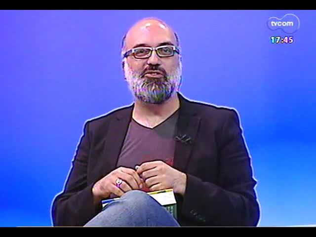 Programa do Roger - Jornalista e crítico Alexandre Petillo fala do livro \'Curtindo música brasileira\' - bloco 1 - 21/11/2013