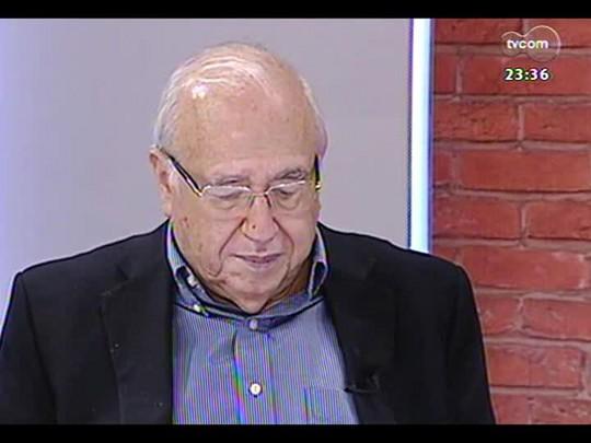 Mãos e Mentes - Escritor, jornalista, cronista e cartunista Luis Fernando Veríssimo - Bloco 4 - 23/03/2014