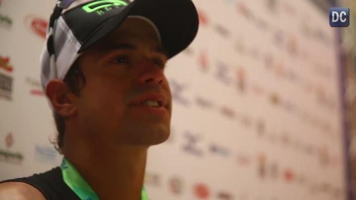 Igor Amorelli, de Balneário Camboriú, é o primeiro brasileiro a vencer o Ironman na Capital