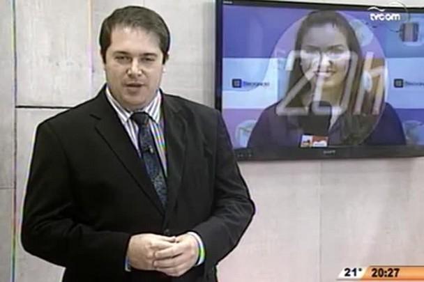 TVCOM 20 Horas - Cada juiz de SC tem sete mil processos para julgar - 2º Bloco - 25/09/14