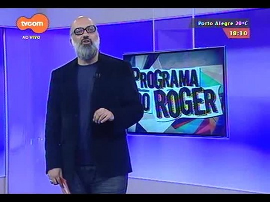 """Programa do Roger - Clipe \""""Miracle\"""" Wannabe Jalva - Bloco 3 - 30/09/2014"""