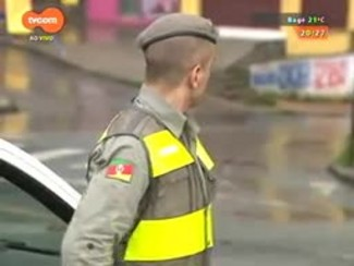 TVCOM 20 Horas - BM reforça policiamento no bairro Mário Quintana - Bloco 3 - 16/10/2014