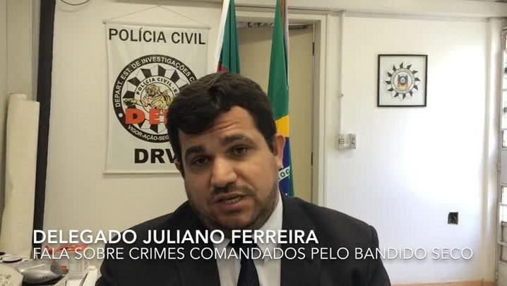 Escutas telefônicas comprovam ligação do bandido Seco com roubos de veículos e tráfico de drogas